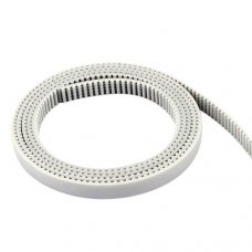 GT2 PU Timing Belt with Steel Core 6mm Width Open End