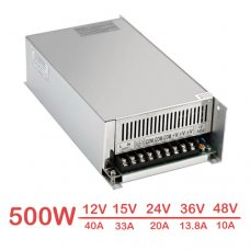 AC 110V/220V 500W Switched Mode Power Supply DC 12V - 48V