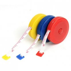 1.5m Retractable Cloth Tape Measure