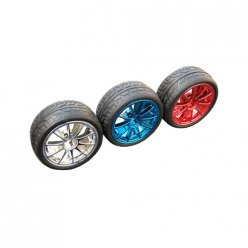 65mm Rubber Tire Wheel for DIY Smart Robot Car