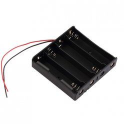 4 x 18650 Battery Compartment