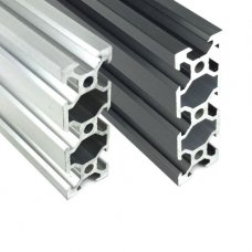 2060 V Slot Extruded Aluminum Profiles 1 Meter 20 x 60