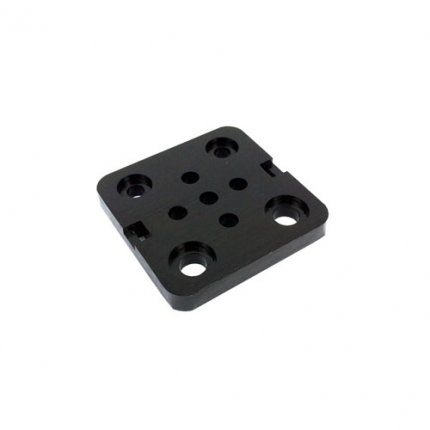 Machined Aluminum Plate for Vslot Linear Guide Carriage