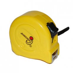 16-Feet 5-Meter Retractable Steel Tape Measure