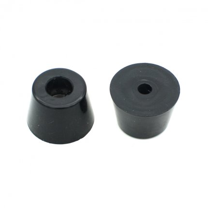 Round Rubber Feet with Steel Washer Inside (D27x21xH18mm)