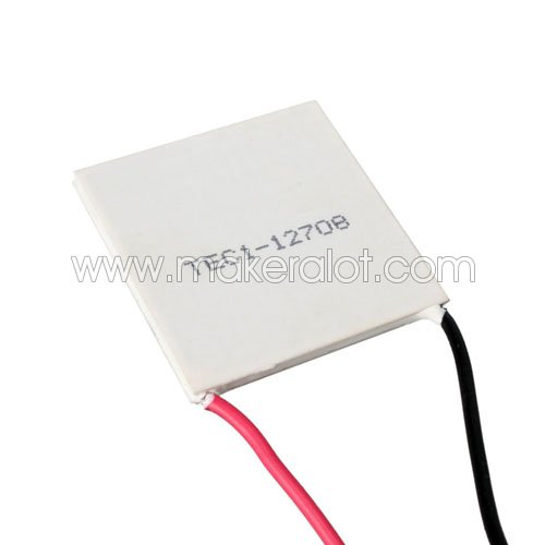 TEC1-12708 Thermoelectric Peltier Cooler - Click Image to Close
