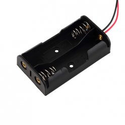 2 x AA Battery Holder with Lead Wires
