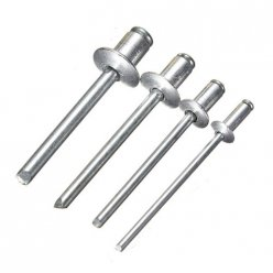 Aluminum Blind Rivets Pack Of 100
