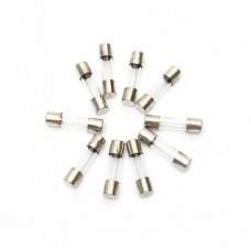 50Pcs 20mm 250V Glass Fuse Tube Pack with 10 Values