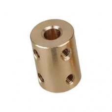 Brass Rigid Shaft Coupling