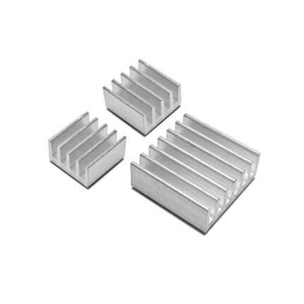 Raspberry Pi Heatsink 3Pc Kit