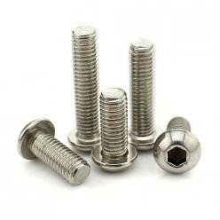 Round Head Hex Socket Screws M3 M4 M5