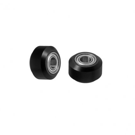 Delrin Mini V Guide Wheel With Bearings