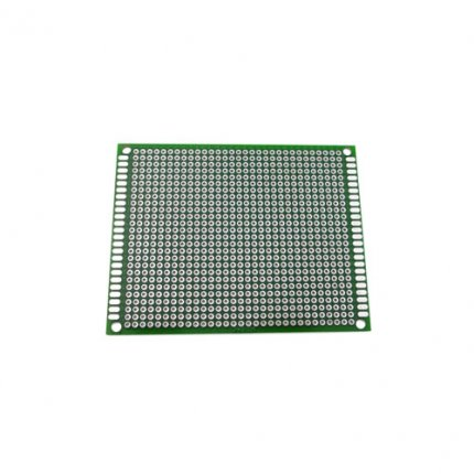 7 x 9cm Double Side Universal Printed Circuit Board