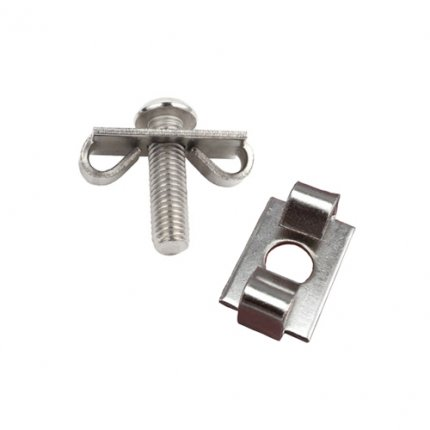 End Fastener for 20mm Aluminum Extrusion