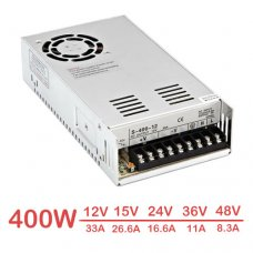 400W Switch Power Supply Input 110V - 240V AC