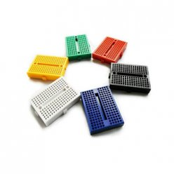 6 Pcs 35 x 47mm Experiment Breadboard 6-Colors