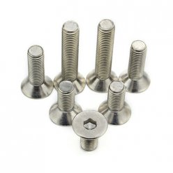 Flat Head Socket Cap Screws M3 M4 M5