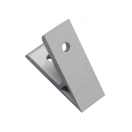 45 Degree Corner Bracket for 20mm Aluminum Extrusion