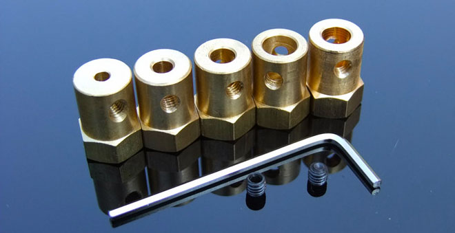 Brass Hex Coupler